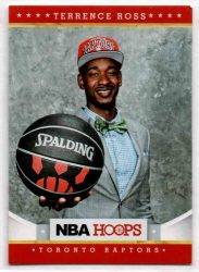 2012-13 Hoops #282 Terrence Ross RC
