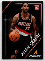2013-14 Pinnacle #2 Allen Crabbe RC