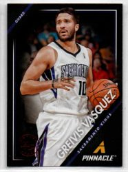 2013-14 Pinnacle Artist's Proofs Red #145 Greivis Vasquez