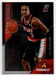2013-14 Pinnacle Team 2020 Artist's Proofs Red #30 C.J. McCollum