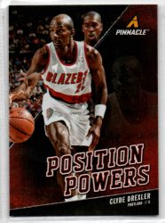 2013-14 Pinnacle Position Powers #6 Clyde Drexler