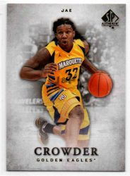 2012-13 SP Authentic #32 Jae Crowder