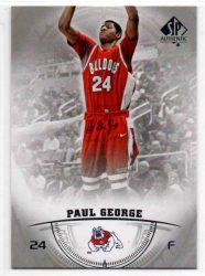 2013-14 SP Authentic #18 Paul George