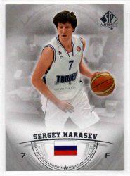 2013-14 SP Authentic #22 Sergey Karasev