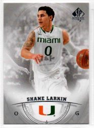 2013-14 SP Authentic #28 Shane Larkin