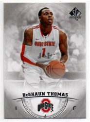 2013-14 SP Authentic #40 Deshaun Thomas