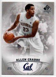 2013-14 SP Authentic #47 Allen Crabbe