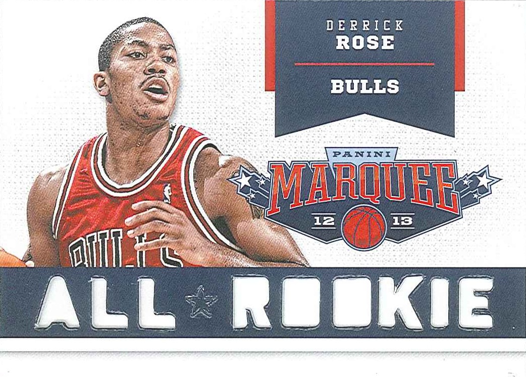 All-Rookie Team #18 Derrick Rose front $8