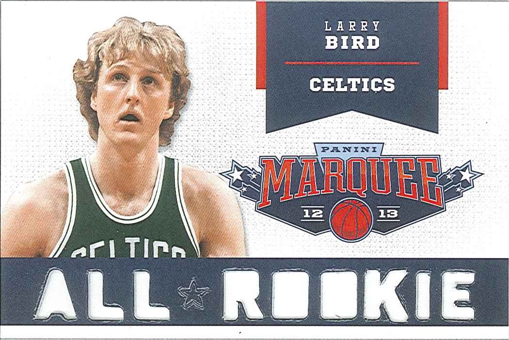 All-Rookie Team #2 Larry Bird front $6